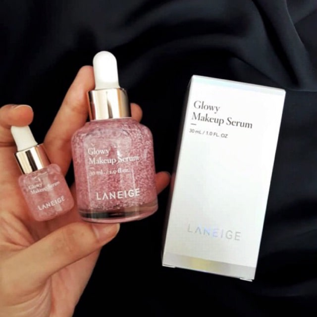 review laneige glowy makeup serum