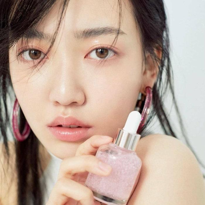 review glowy makeup serum laneige