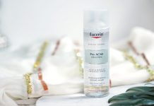 eucerin pro acne solution acne & make up cleansing water
