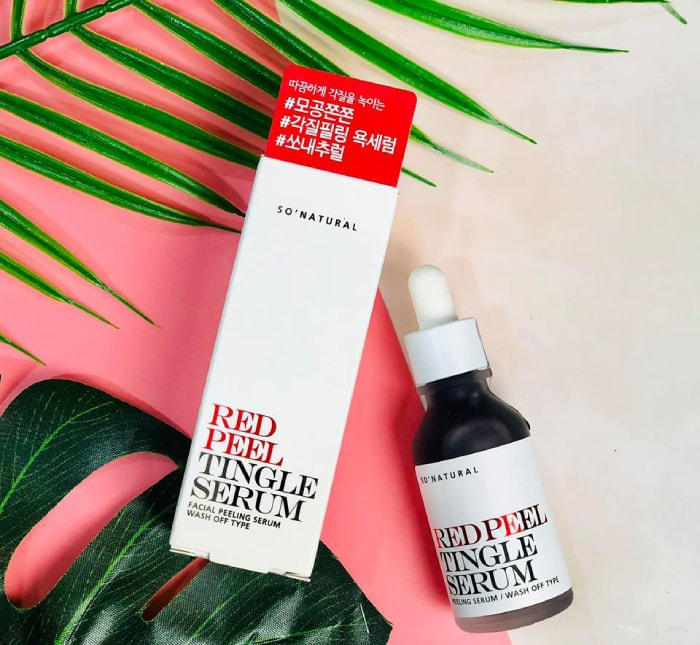 red peel tingle serum review