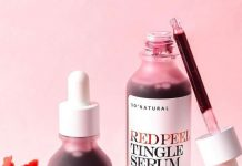 red peel tingle serum korea