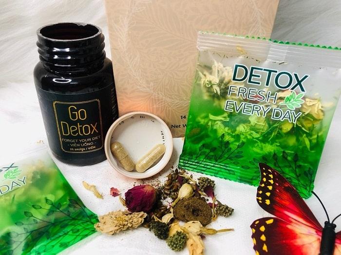 Sản phẩm Godetox giúp hỗ trợ giảm cân nhanh chóng, hiệu quả.