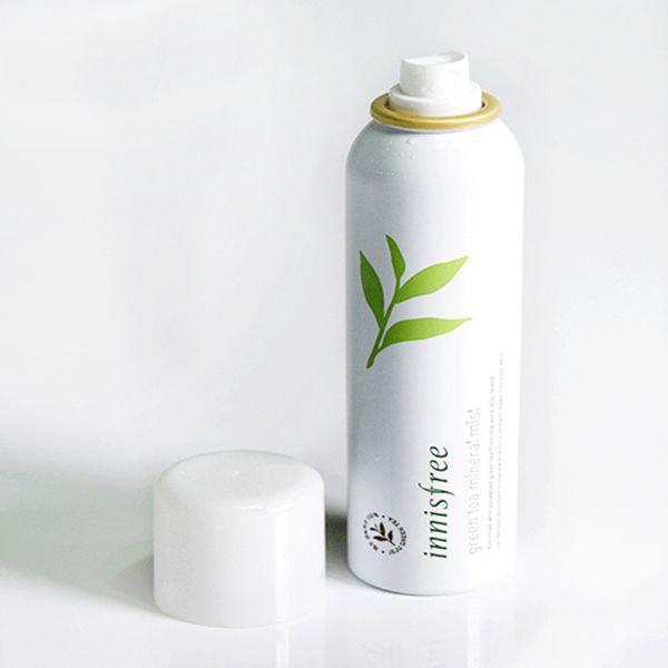 xịt khoáng trà xanhinnisfree green tea mineral mist