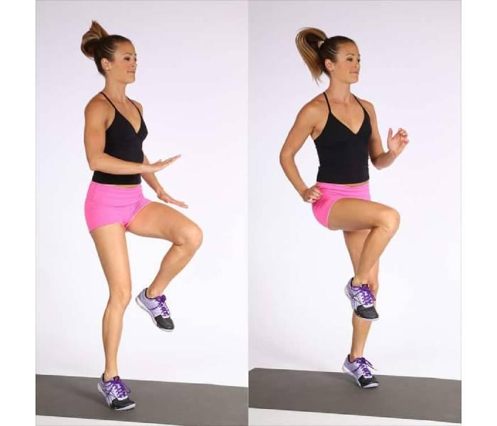 các bài tập thể dục giảm cân trong 1 tuần