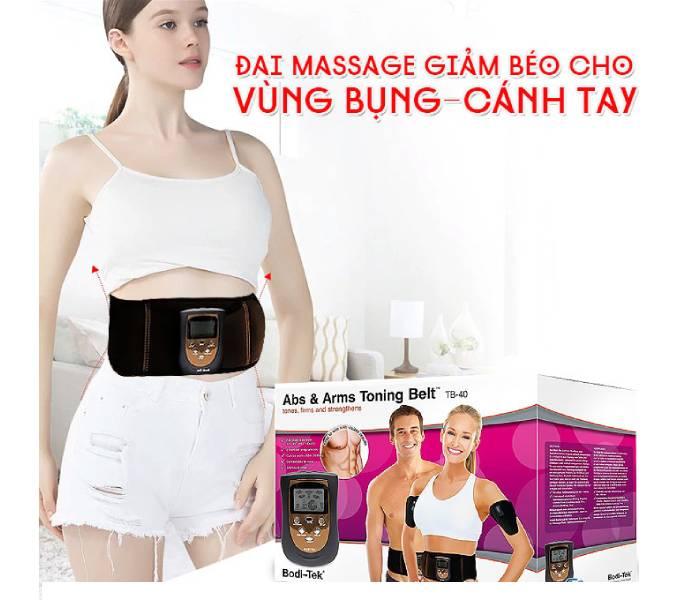 Máy massage bụng có giảm mỡ không?