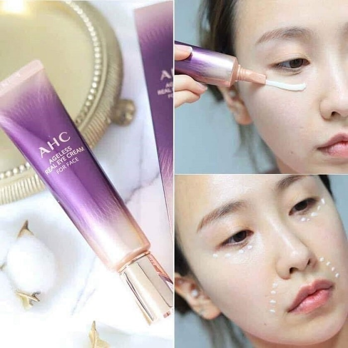 kem mắt ahc ultimate real eye cream for face