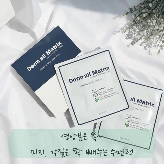 mặt nạ derm all matrix